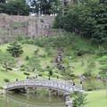 玉泉院丸庭園(色紙短冊積石垣)1