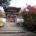 長岳寺・楼門1
