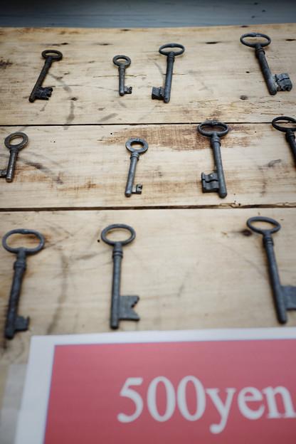 部屋の鍵売ります。