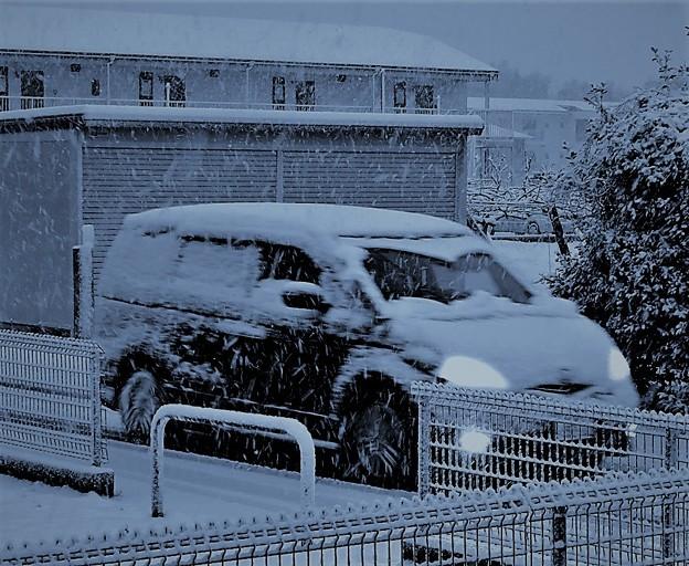 速報初雪・・3  2018:01:22