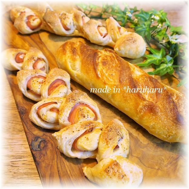 ハムエピ&フランスパン
