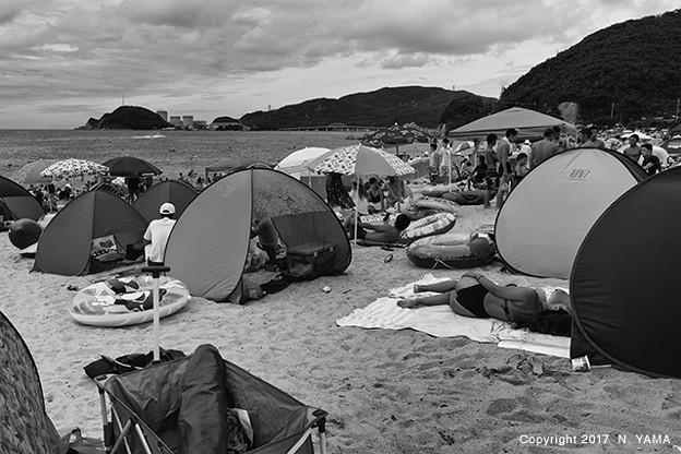 水晶浜海水浴場 2017