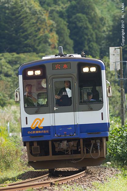 2017年10月8日、のと鉄道