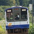 写真: 2017年10月8日、のと鉄道