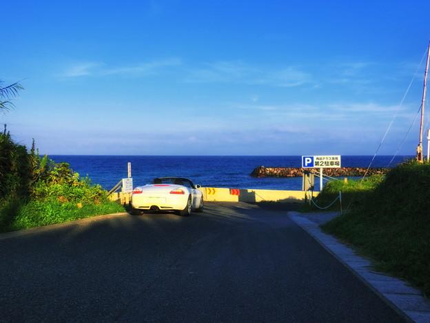 写真: 角島の果て