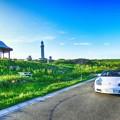 写真: 角島ドライブ