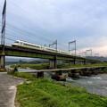 写真: 石橋の潜水橋