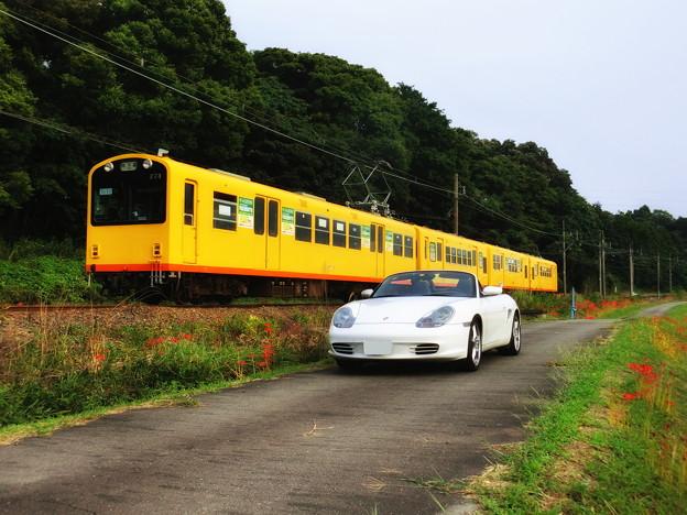 秋の三岐鉄道