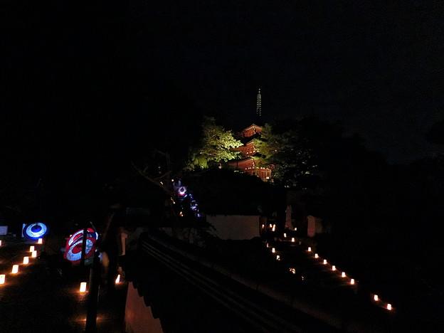 岡寺ライトアップ