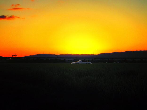 夕暮れ風景