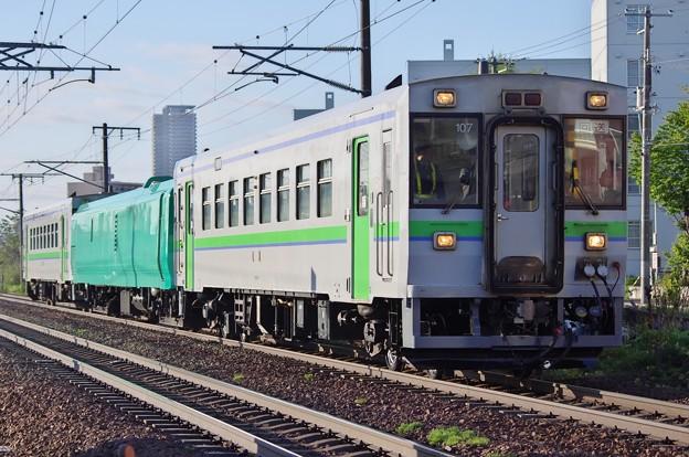 キハ150-107~編成 試運転
