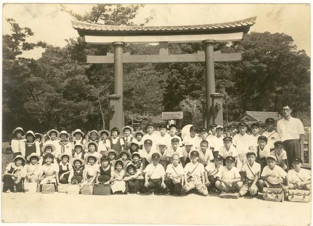 Photos: 新田神社 川内 鹿児島 昭和29年
