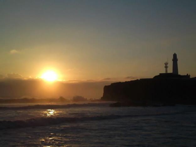 銚子の初日の出と犬吠埼灯台♪