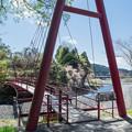 小長井の吊橋