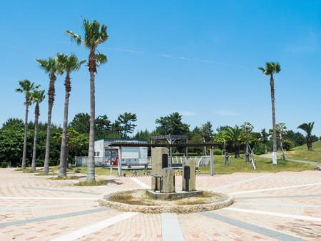 広野海岸公園 西エントランス広場