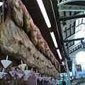 Photos: 生ハム 市場にて