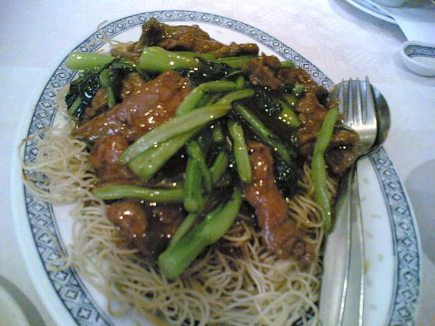 Photos: 牛肉炒麺