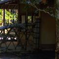 写真: 境内の茶房(松下幸之助公が設立)