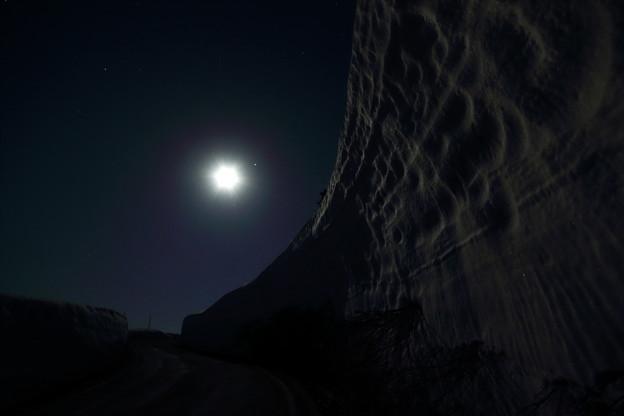 月,木星,スピカの接近の日に