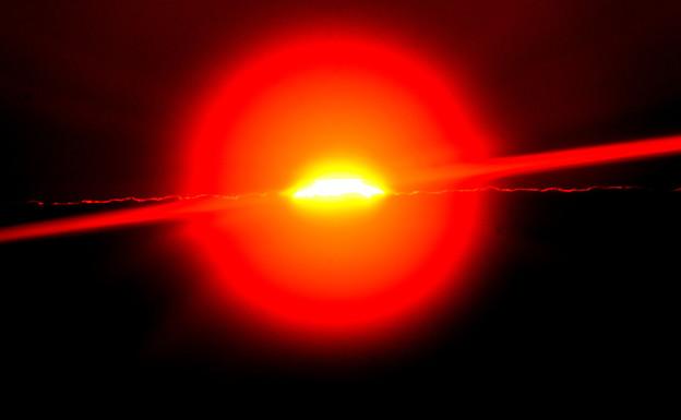 夕陽のリング
