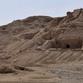 写真: 発掘跡