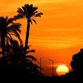 カルナックの日没