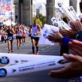 Photos: 完走者への拍手