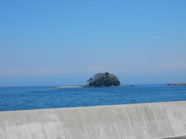 写真: DSCN1975 富山湾、うっすら立山連峰