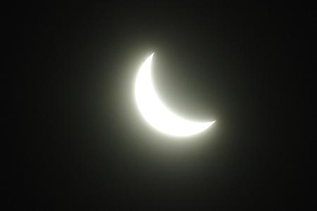 部分日食の経時的変化(3)