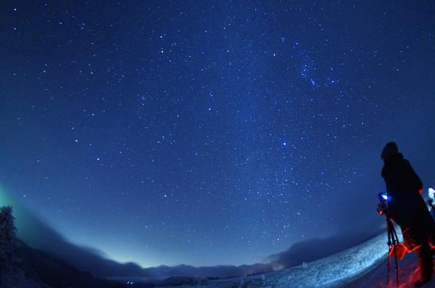 美ヶ原の星空