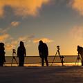 冬の撮影隊