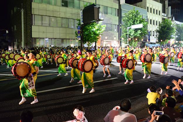 日本東北盛岡三颯舞祭