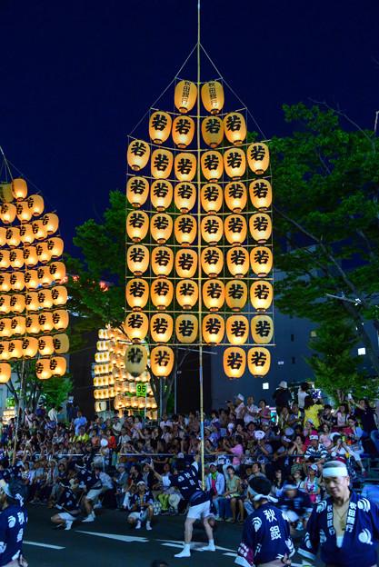 東北秋田竿燈祭