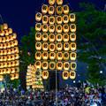 写真: 東北秋田竿燈祭