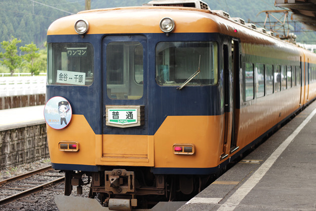 写真: 帰路_電車16000系