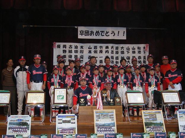 2007年卒団式2(岩佐監督)