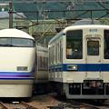 Photos: 6064M列車充当車両と7344列車