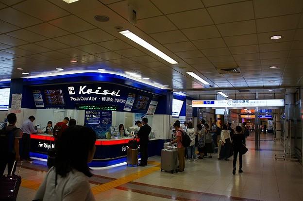 写真: 成田空港