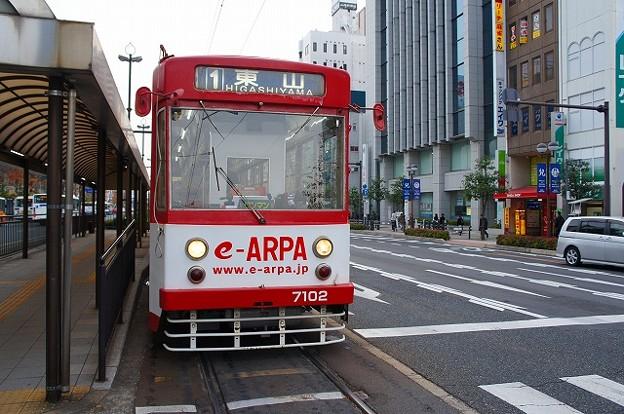 岡山電気軌道7100系