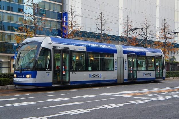 岡山電気軌道9200系 MOMO2