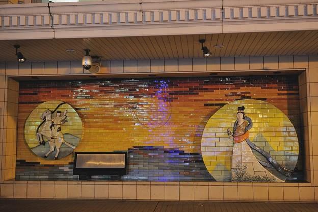 近江鉄道八日市駅 2010/12/05 あかねさす紫野行、、、、