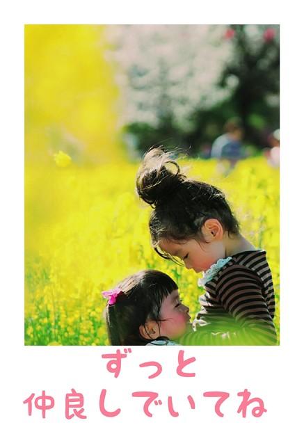 Photos: 仲良し姉妹