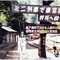 写真: ミニ列車で車窓探訪