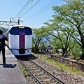 写真: 勝沼ぶどう郷駅