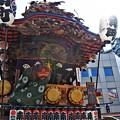 写真: 炎天下の祭り