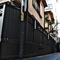 写真: 黒塀通り(1)