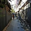 写真: 黒塀通り(4)