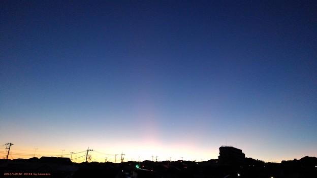 朝焼け(171030)