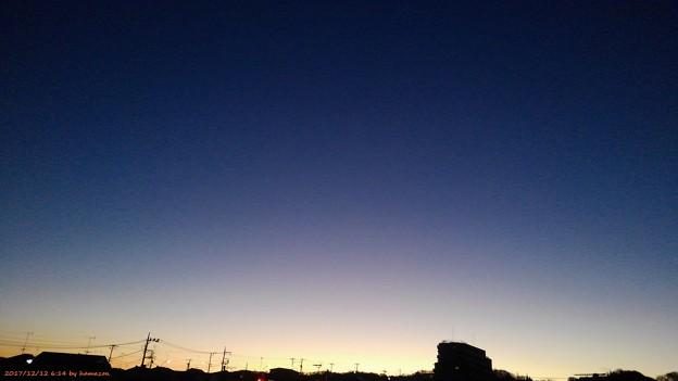 朝焼け(171212)