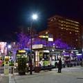 写真: 夜の街路地(4)